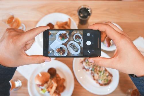 Unikt og Instagram-venligt madkoncept